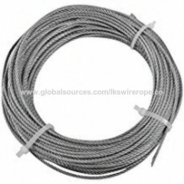 China Galvanized Wire Rope from Wuhan Manufacturer: LKING STEEL LIMITED