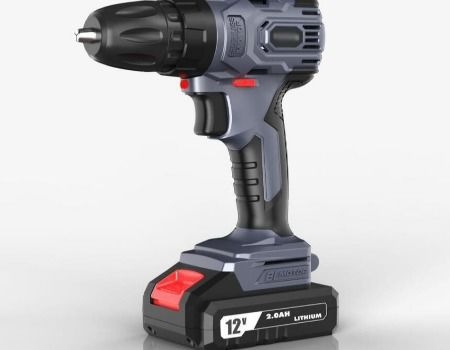 12v Lithium Battery Brushless Impact Drill With 2 Sd Cordless Drills
