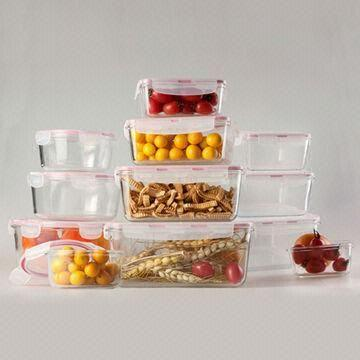 Food Storage Container China Food Storage Container & Glass Food Storage Container with Non-porous Surface Easy to Clean ...