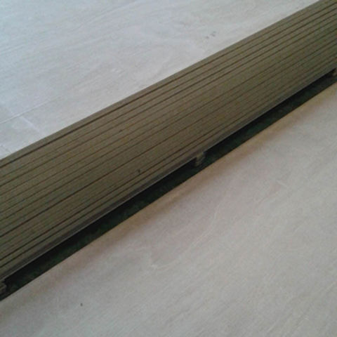 China 28mm 19 Plies Keruing Container Flooring Marine Plywood On