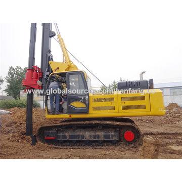 Impact construction drilling equipment, screw pile driver