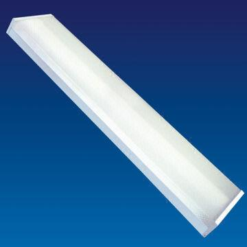 Croissant 4ft twin tubes 2x36W fluorescent lighting fixtures with prismatic JG-47