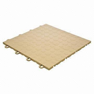 China High Impact Polypropylene Interlocking Garage Floor Tiles Can Be Installed Without Tools