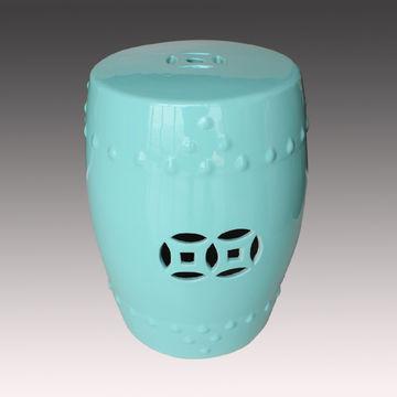 Sensational Jingdezhen Ceramic Cyan Color Glaze Chinese Garden Stool Unemploymentrelief Wooden Chair Designs For Living Room Unemploymentrelieforg