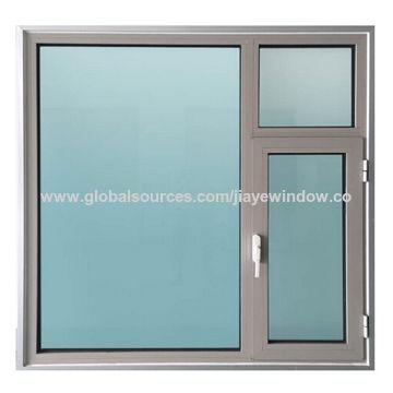 China Aluminium Vertical Cat Window Design Double Glazing Aluminum Windows And Doors