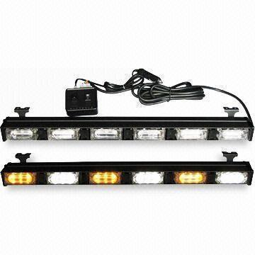 China Car Strobe Lights with Red or Blue LED Combination and 1W