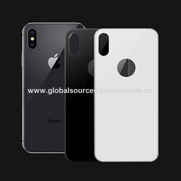 huge selection of 5fb07 a0ad0 Colorful back glass for iPhone X