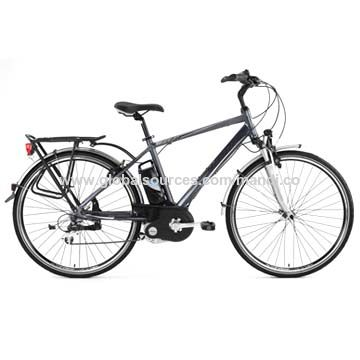 China Electric Mountain Bicycles With Crank Drive Motor Lithium