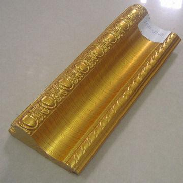 Cheap Gold ornate PS decorative plastic picture/morror frame ...