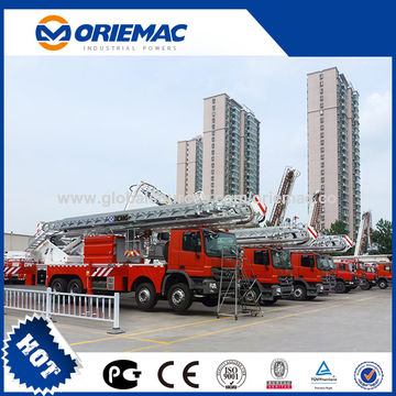 China Hydraulic Aerial Work Platform Fire Trucks