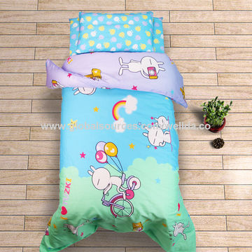 China 2017 new design 4 piece baby bedding set 100% cotton