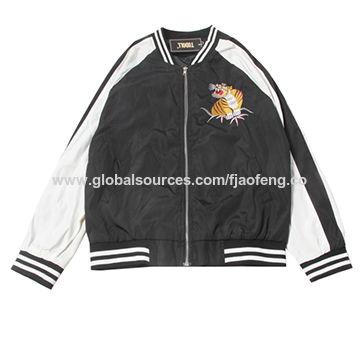 285f7c744 Satin bomber jacket