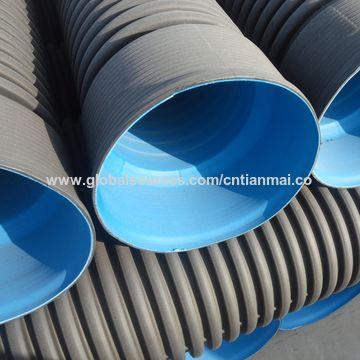 ... China China Maker 110mm-800mm HDPE Structured Twin Wall Corrugated Plastic Underground Sewer Soil Pipe ... & China Plastic Underground Sewer Soil Pipe from Jinan Manufacturer ...