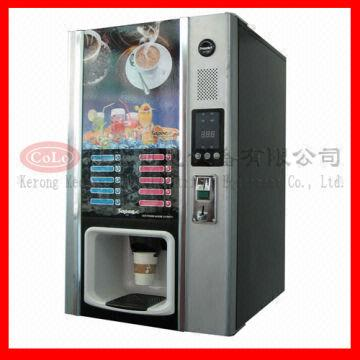Automatic Coin Operated Hot Beverage Vending Machines / Hot