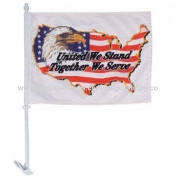 China Custom car window flag, manufacturer supply, custom printed