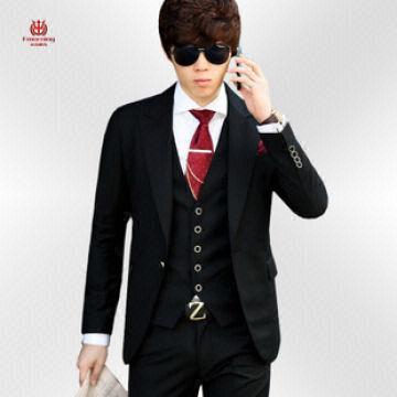 men's casual suits, fashionkorean U.K. style,BUSINESS SUITS young ...