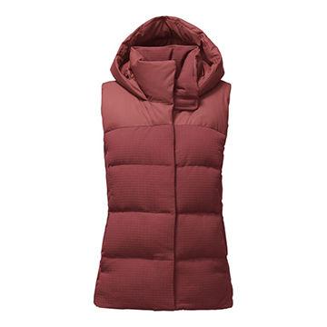 dbb722c06 OEM women's fashion winter long duck down vest