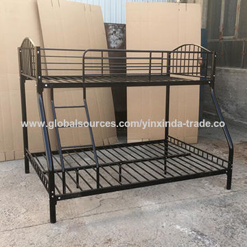China Twin Over Full Bunk Bed Clara Metal Triple Beds For Adults