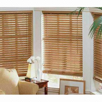 Venetian Blinds with Bamboo Grains and Unique Style Green Product