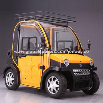 Wheel Electric Car And Door Smart Looking Easy Driving