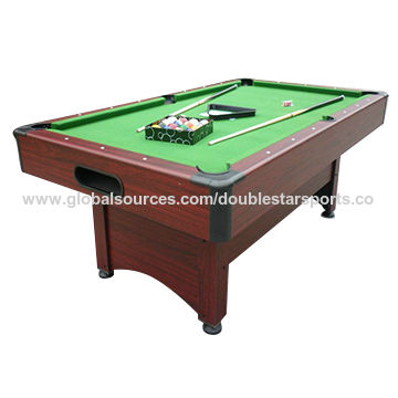 China Snooker Pool Billiard Table Accessories Included Different - Pool table sizes and prices