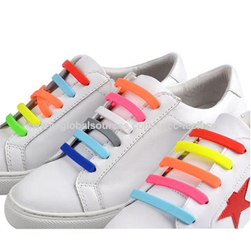 ChinaV-tie Silicone Shoelaces, Elastic