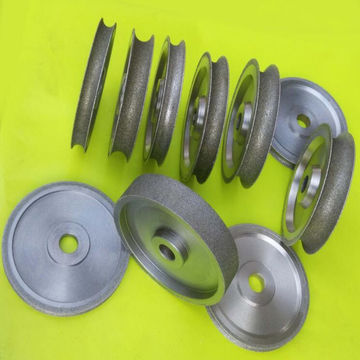 China Sharp and high efficiency electroplated diamond grinding wheel