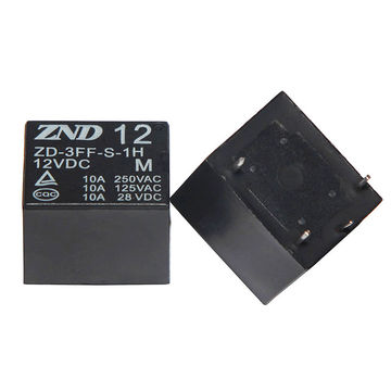 China 3FF/T73/10A/12V/4-pin Electromagnetic Relay Automotive Relay