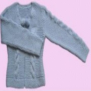 f4a43dd54517 China hand knit blue latest design woolenknitted girls Sweater