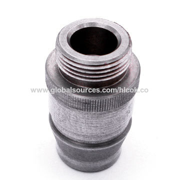 China Precision CNC Machining Part, with Straight Knurling, Customized Designs and Specifications Welcomed