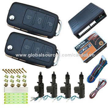 Keyless Car Door Lock or Unlock, Central Lock Automatization