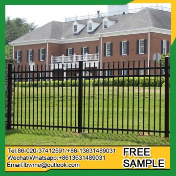 Iron Fence Panels >> Allentown Wrought Iron Fence Panels Harrisburg Modern Metal Fencing