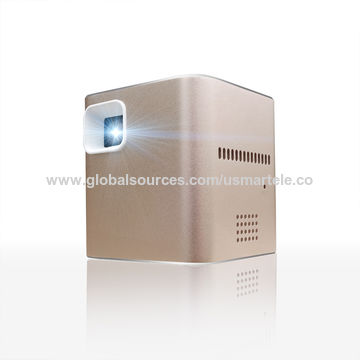 China 2016 Q3 Mini DLP Projector with Wi-Fi Battery Powered Customized Logo Smart