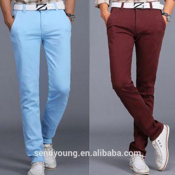 Huade Fashion New Style Men S Chinos Men Chino Pants Multi Colors