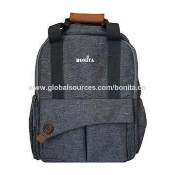 China Large Capacity Diaper Bag Multi Compartment