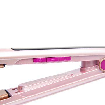 China Hair straightener, coconut oil infused ceramic plates, zero gap/excellent heat recovery/max 230C