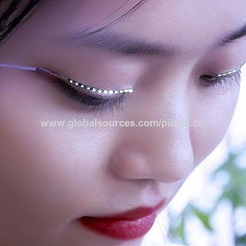 a0feb7ae1c5 China Source production factory direct sales fashion lash false LED  eyelashes light for party ...