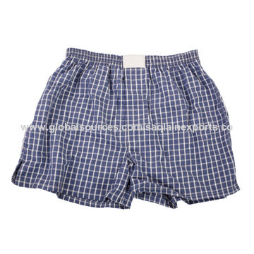 India Men's Boxer Shorts From Ghaziabad Manufacturer Saqlain Exports Impressive Boxer Pattern
