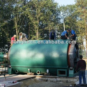 Fully Automatic Continuous Waste Tyre Oil Pyrolysis Plant