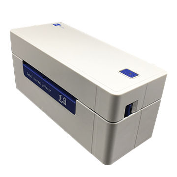 Wide-format label maker prints 4X6 inch shipping
