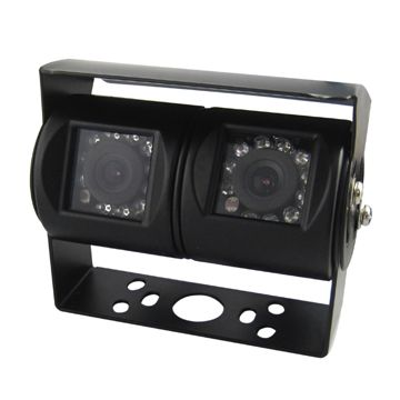 China Double Lens Camera with IR, 15.625/15.734Hz Vertical Synchronization Frequency