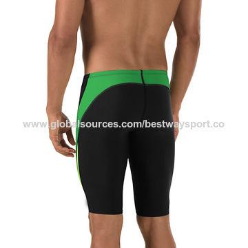 4c2fa8367 Different color match black lycra shorts digital-printed swim trunks ...