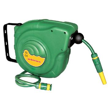 China Retractable Garden Hose Reel 15m Auto Rewind