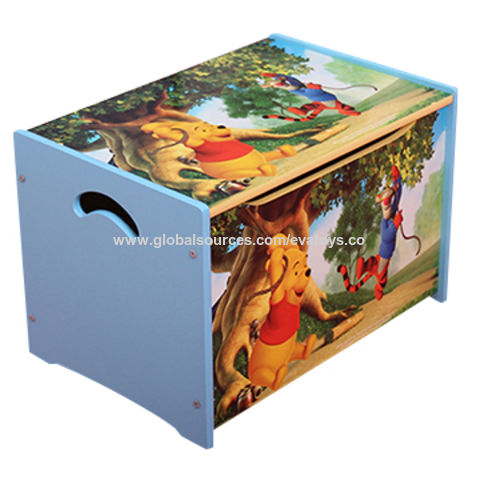 Childrenu0027s Wooden Toy Storage Box China Childrenu0027s Wooden Toy Storage Box