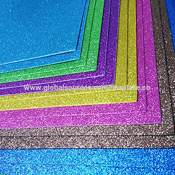 China Colorful Eva foamy diamond rubber sheets on Global Sources