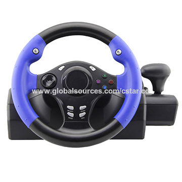 China 2018 Racing Car Game Steering Wheel From Shenzhen Wholesaler