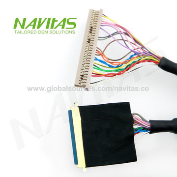Taiwan 40 pin 0 5mm to DF14 30 pin High Speed LVDS LCD