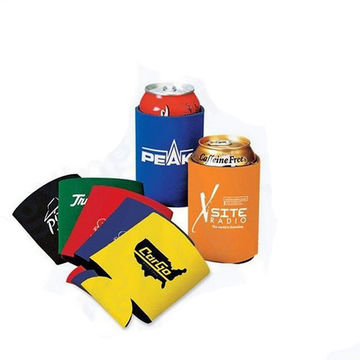 Koozie, 3mm foldable neoprene, can cooler, 330ml/12oz beer