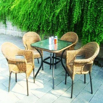 China Outdoor furniture,garden wicker furniture sets,Plastic rattan  furniture,rattan chair and