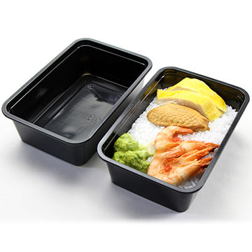 Disposable square pp plastic takeaway food container | Global Sources